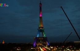 Tháp Eiffel tưng bừng đón vị khách thứ 300 triệu