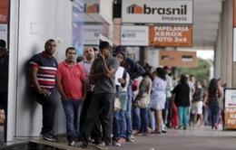 Brazil: Tỷ lệ thất nghiệp tăng cao kỷ lục trong quý I/2017