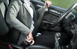 Phạt người ngồi ghế sau xe ô tô không thắt dây an toàn