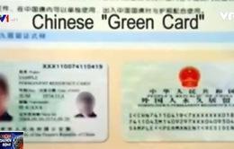 """Trung Quốc cải cách """"Thẻ xanh"""""""