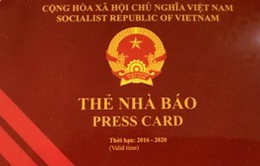 Thu hồi thẻ nhà báo của ông Lê Duy Phong