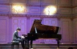 Thí sinh Việt Nam đoạt giải Nhất cuộc thi Piano tại Thụy Điển
