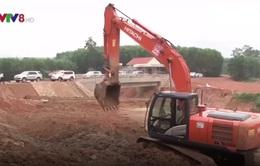 Nghệ An: Kiểm tra tiến độ thi công hồ chứa nước Bản Mồng