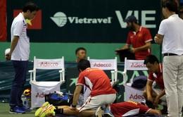 Thể lực - một trong những nguyên nhân thất bại của đội tuyển Davis Cup Việt Nam