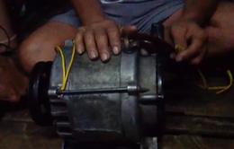 Mục sở thị thiết bị khai thác tận diệt hải sản ở Đồng Nai