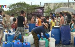 Người dân TP Nha Trang bức xúc vì thiếu nước sinh hoạt kéo dài