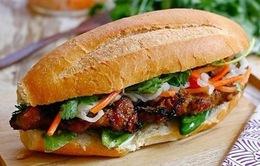 Khó quên hương vị bánh mì thịt nướng xíu mại