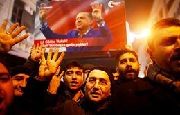 Châu Âu bày tỏ lập trường cứng rắn với Thổ Nhĩ Kỳ