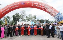 Thông xe cặp cửa khẩu quốc tế Lệ Thanh - O Ya Dav