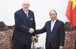 Thủ tướng tiếp lãnh đạo các Tập đoàn lớn của Anh và Hà Lan