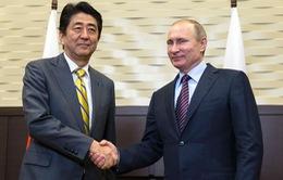 Tổng thống Nga Putin hội đàm với Thủ tướng Nhật Bản Shinzo Abe