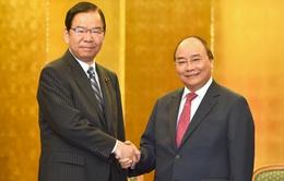Thủ tướng tiếp lãnh đạo một số đảng của Nhật Bản