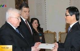 Đại sứ Việt Nam trình thư ủy nhiệm lên Tổng thống Iraq