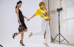 """Vietnam's Next Top Model 2017: Thùy Trâm kết đôi bất đắc dĩ với """"oan gia"""" Nguyễn Hợp"""