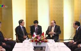 Thủ tướng tiếp lãnh đạo các Hội hữu nghị vùng Kansai, Nhật Bản