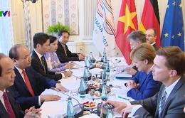 Thủ tướng Nguyễn Xuân Phúc và Thủ tướng Angela Merkel hội đàm
