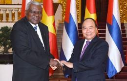 Thủ tướng: Việt Nam - Cuba phấn đấu đưa quan hệ hợp tác kinh tế - thương mại lên ngang tầm với quan hệ chính trị