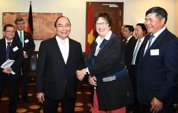 Thủ tướng tiếp Bộ trưởng Bộ Kinh tế và Năng lượng Đức