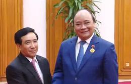 Thủ tướng tiếp Phó Chủ tịch nước Lào