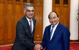Thủ tướng tiếp các nhà đầu tư quốc tế