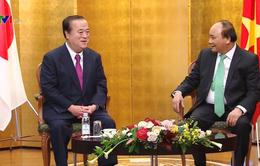 Thủ tướng Nguyễn Xuân Phúc tiếp Thống đốc tỉnh Ibaraki Nhật Bản