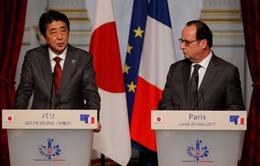 Nhật - Pháp ủng hộ tự do hàng hải