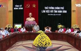 Thủ tướng gợi ý hướng phát triển cho tỉnh Ninh Bình