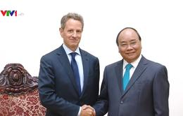 Thủ tướng Nguyễn Xuân Phúc tiếp Chủ tịch Tập đoàn Warburg Pincus