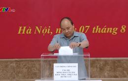 Lãnh đạo Chính phủ quyên góp ủng hộ đồng bào các tỉnh Tây Bắc