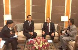 Thủ tướng Việt Nam và Thái Lan nhất trí việc cân bằng cán cân thương mại