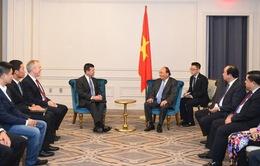 Thủ tướng Nguyễn Xuân Phúc tiếp Phó Chủ tịch tập đoàn NASDAQ