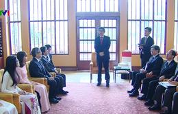 Thủ tướng Nhật Bản gặp gỡ lãnh đạo Đại học Quốc gia Hà Nội