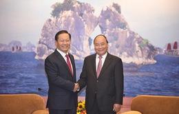 Thủ tướng tiếp Bí thư Khu tự trị dân tộc Choang Quảng Tây (Trung Quốc)