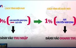 Ý kiến trái chiều về đề xuất đánh thuế 1% doanh thu M&A