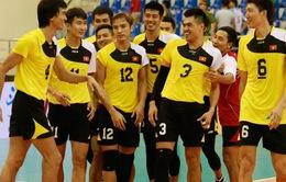 Lịch thi đấu Giải bóng chuyền các CLB nam châu Á 2017 ngày 3/7: ĐT Việt Nam đối đầu Altay (Kazakhstan)