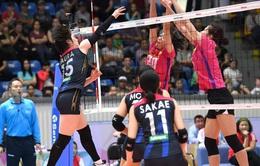 Ngân hàng Công Thương đối đầu chủ nhà Kazakhstan ở tứ kết giải bóng chuyền nữ các CLB châu Á