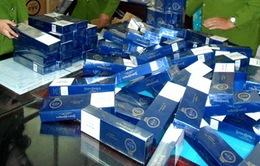Tiêu hủy gần 600.000 bao thuốc lá ngoại nhập lậu