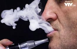 Nga cấm thuốc lá điện tử ở nơi công cộng từ 1/6