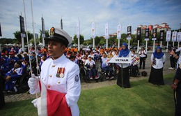 Lễ thượng cờ tại Asean Para Games 9