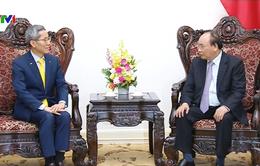 Thủ tướng tiếp Chủ tịch Tập đoàn tài chính KB Kookmin, Hàn Quốc