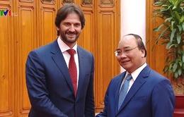 Thủ tướng Nguyễn Xuân Phúc tiếp Phó Thủ tướng Slovakia