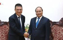 Thủ tướng tiếp Chủ tịch tập đoàn xi măng Thái Lan