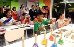 Thư viện 4 trong 1 dành cho thiếu nhi đầu tiên tại Việt Nam