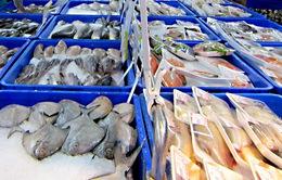 Nhiều lựa chọn hàng thủy sản tại Hội chợ Thủy sản Quốc tế 2017