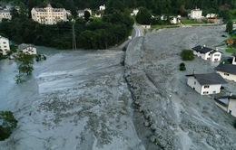 Lở đất tại Thụy Sỹ, 8 người mất tích