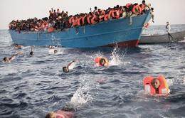 Cứu sống 75 người tị nạn ở ngoài khơi Libya