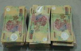 Bộ đội biên phòng Lạng Sơn bắt đối tượng vận chuyển tiền giả