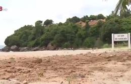 Đà Nẵng: Khu vực biển Tiên Sa bị sạt lở