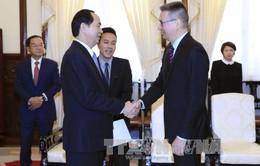 Chủ tịch nước tiếp các Đại sứ Phần Lan, Hy Lạp chào từ biệt