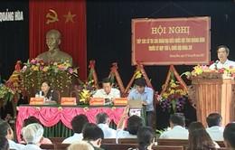 Trưởng Ban Kinh tế Trung ương tiếp xúc cử tri tỉnh Quảng Bình